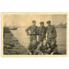SS Leibstandarte with Luftwaffe friends