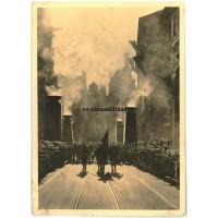 """Postcard """"Die Fahne"""" - Haus der Deutschen Kunst"""