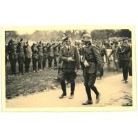 Hitler with Kurt von Briesen in Poland 1939