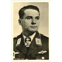 Major Walter Storp - Hoffmann postcard