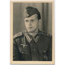 Marineartillerie portrait with HJ award