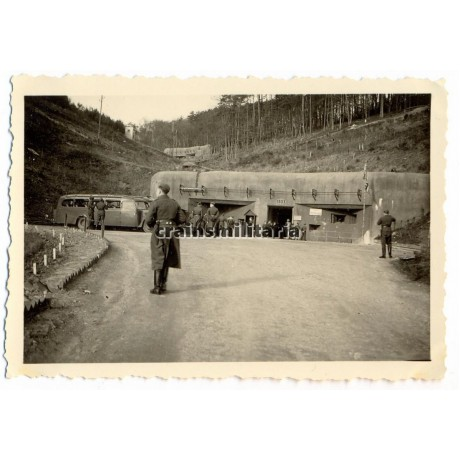 Maginot bunker Hochwald near Haguenau, France