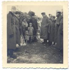 Gypsy family in Piatra-Olt Romania 1941