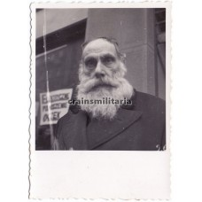 Portrait of Jewish man in Warschau Ghetto