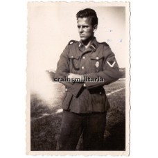 Young SS Soldier with HJ Leistungsabzeichen