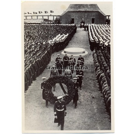 ***SOLD*** Hitler during inauguration of Laboe memorial