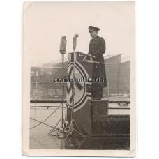 ***SOLD*** Karl Topp speech during launch of battleship Tirpitz