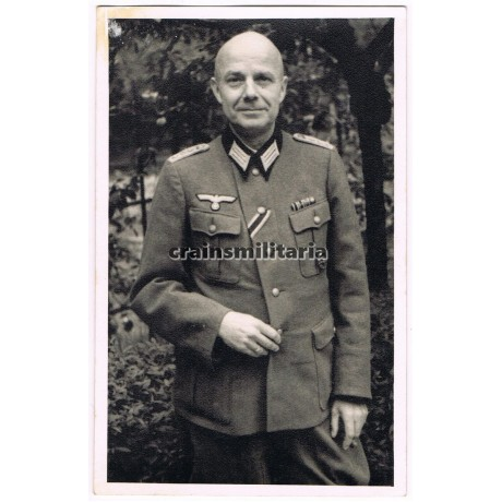 Hauptmann with awards portrait