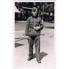 RAD Soldier portrait in Frankfurt
