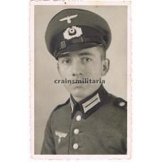 Heer soldier portrait in Waffenrock
