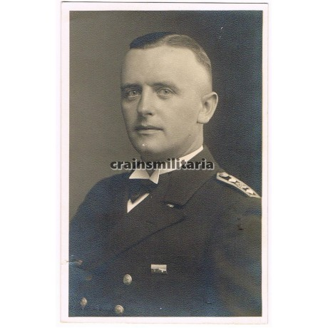 Kriegsmarine NCO portrait with long service