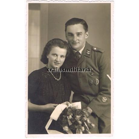 Luftwaffe mariage photo with many awards