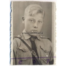 ***SOLD*** Hitlerjugend boy portrait