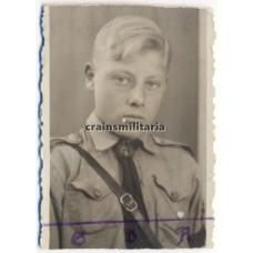 ***SOLD*** Hitlerjugend boy portrait