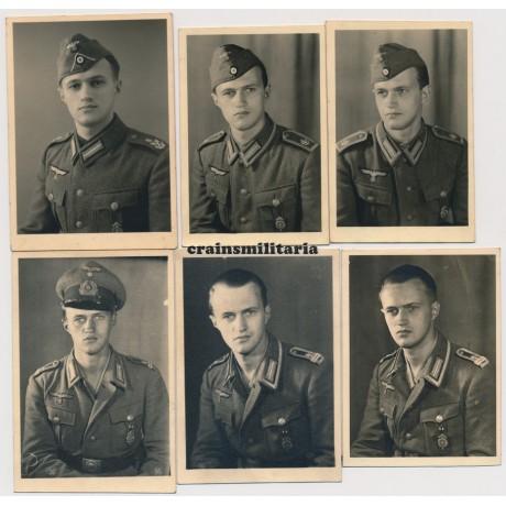 Kriegsmarine portraits with HJ awards