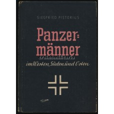 """***SOLD*** Period Book """"Panzermänner"""" - Siegfried Pistorius"""