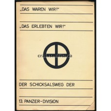 13. Panzer-Division divisional history