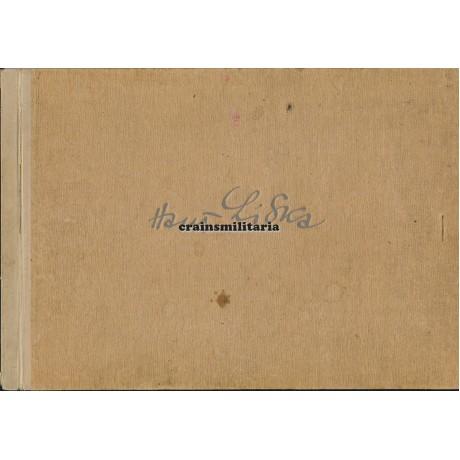 Hans Liska sketchbook