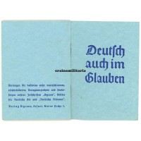 Deutsch auch im Glauben - NSDAP Bad Vilbel