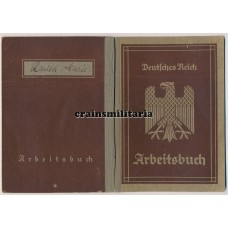 Arbeitsbuch Sonderdienst Seehaus (Ministry of Propaganda)