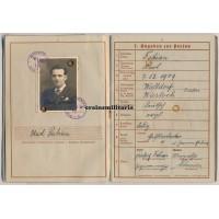 KIA Wehrpass 198.ID