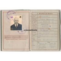 Militärpass & Wehrpass Passchendaele veteran