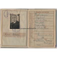 France 1940 KIA Wehrpass 299.ID
