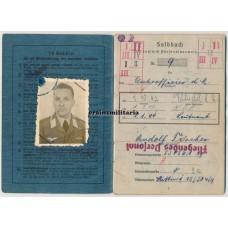 Transport pilot Soldbuch, Stalingrad, Africa