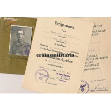 278.ID Italy WIA Soldbuch grouping