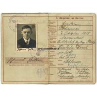 269.ID Wehrpass, Belgium 1940
