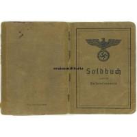 Soldbuch 197.ID Pionier - died Mainz 1942
