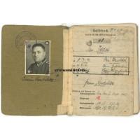 Sanitäter Soldbuch, 189.ID & 16.VGD France