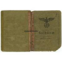DAK Soldbuch 15.PD medic Africa POW