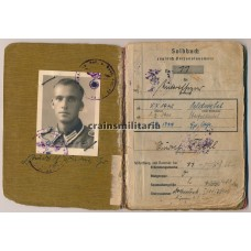 13.Pz.Div. Soldbuch, photo & document grouping