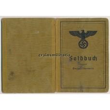 23.Pz.Div. Soldbuch Hungary 1944