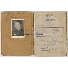 Samland 1945 WIA Soldbuch