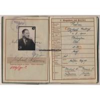2.PD Poland 1939 WIA Wehrpass