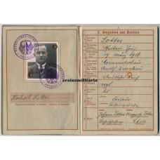 France 1940 Stonne KIA Wehrpass 24.ID