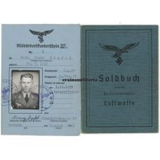 KIA Bordfunker Soldbuch KG30
