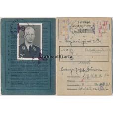 Luftgaukommando VI Officer Soldbuch