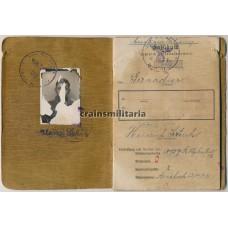 Hermann Göring Panzergrenadier KIA Soldbuch & Diary