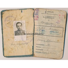 Lehrgeschwader 1 Soldbuch grouping - Italy, Greece, Africa