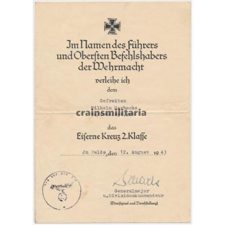 272.ID Normandy EK1 Award document grouping