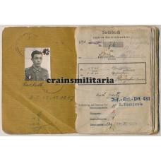 Krimschild Soldbuch 46.ID