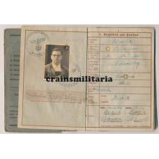 Heeresflak Wehrpass 18.Pz.Div, Italy 1944-45