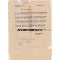 KIA Letter HG Fallschirm Panzer soldier