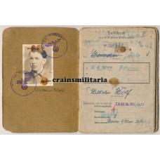 Soldbuch 342.ID Pionier