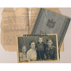 France 1944 KIA Wehrpass group