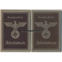 Arbeitsbuch brothers Heereszeugamt
