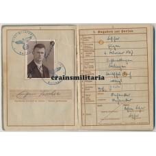 Wehrpass concentration camp prisoner